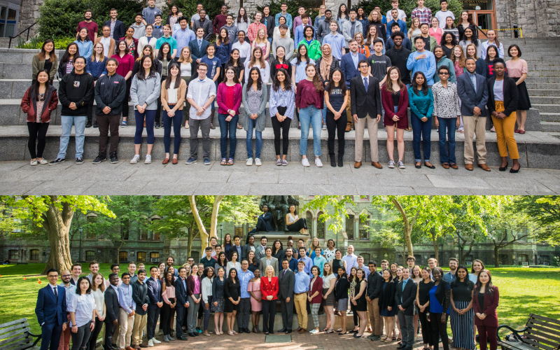 Composite of Research and Fellowships recipients