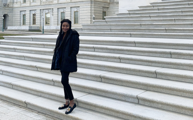 Junior Chinaza Ruth Okonkwo has been awarded a 2021 Beinecke Scholarship to pursue a graduate education in the arts, humanities, and social sciences.