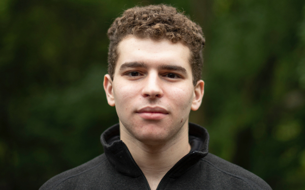 Senior Samuel Orloff has been named a James C. Gaither Junior Fellow, one of 12 in the country chosen for a one-year internship at the Carnegie Endowment for International Peace in Washington, D.C.