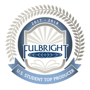 Fulbright Top Producer badge