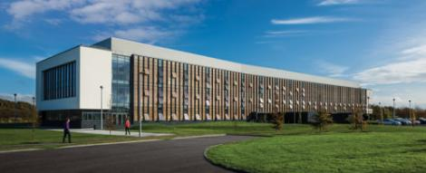 NUIG's shiny new biomedical science building