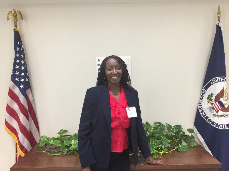 Aminata Sy at the State Department